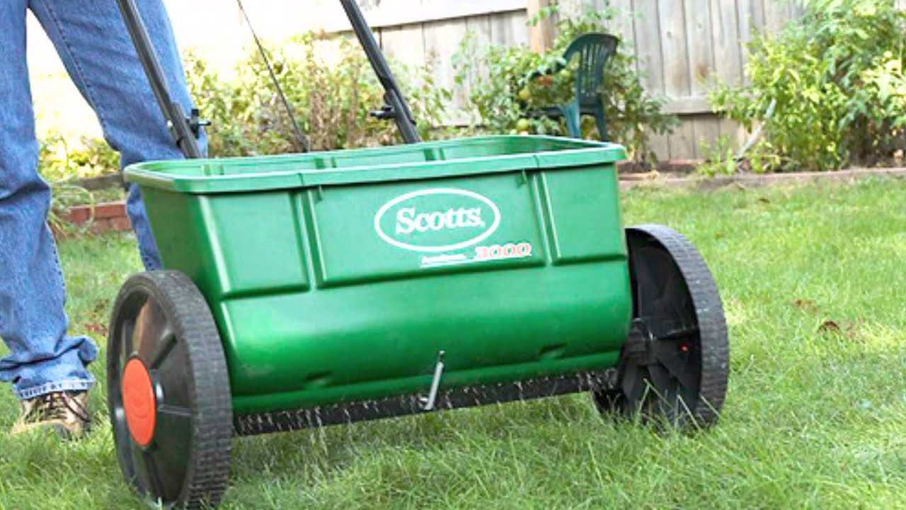 Overseeding Lawn With Spreader