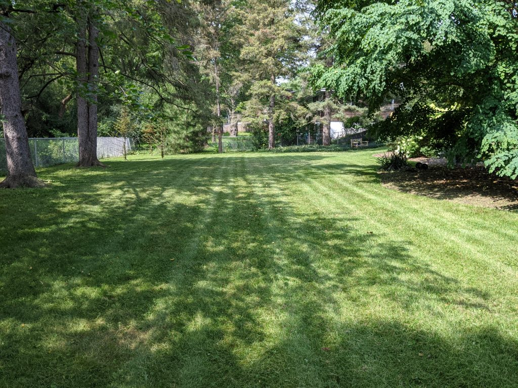 Lawn Mowing Pebble Hill Circle In Dewitt